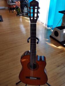 Oscar Schmidt OC11CE Acoustic Electric Classical Guitar