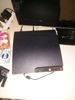 PS3 with 2 controllers, 9 games and wireless ps3 headphones