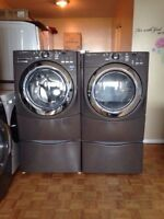 Maytag 5000 series steam washer & steam GAS dryer