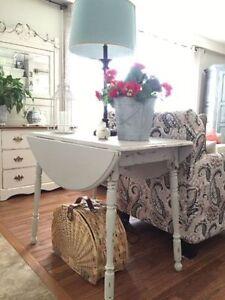 Drop Leaf Farmhouse Table