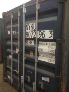 SHIPPING CONTAINERS FOR SALE 20' $2,600