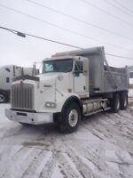 2008 Kenworth T800, Used Gravel Truck