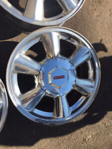 "17"" - 6 Spoke Chrome Envoy Rims"