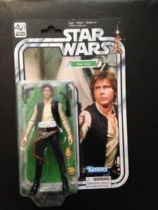 Star Wars Black 40th Anniversary Han Solo