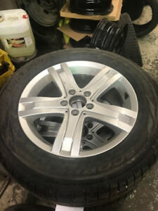 OEM Mercedes Mags w/Tires 17""