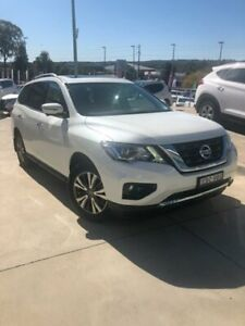 2019 Nissan Pathfinder MY19 ST-L (2WD) Ivory Pearl Continuous Variable Wagon Castle Hill The Hills District Preview
