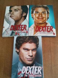 DEXTER saison 1-2-3 en DVD