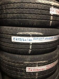 Lots of P275/60R20 Goodyear Wrangler SR-A $60/TIRE TR2