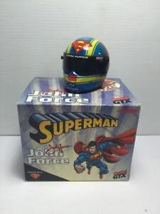 Action John Force Superman Castrol GTX Diecast Racing Helmet