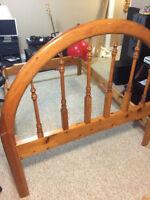 Pine Bed Frame - Hoop - Great for Cottage