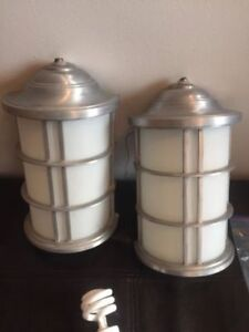 Pair of Outdoor lights (Retailed $250)