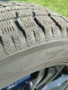 Black Alloy Rims and WINTER Tires 255/55/18