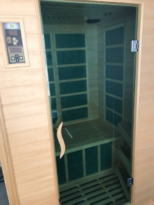 Sunlight far infrared sauna - only used a few times