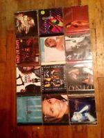 Lot de vieux disque CD ! Incluant 1 jeux de Play station !