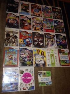 Wii Games , Controller & Accessories