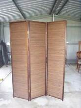 Indoor Privacy Partition Screen wood and cane Gillieston Heights Maitland Area Preview