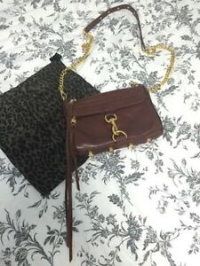 Rebecca Minkoff Mini Mac - Brown with gold hardware