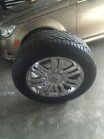 "NEED GONE! 20"" 6-135MM RIMS/TPMS ON 275/55R20 GENERAL GRABBERS"