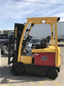 Chariot elevateur 2011 Hyster , Forklift 5000 Lb electrique Sold