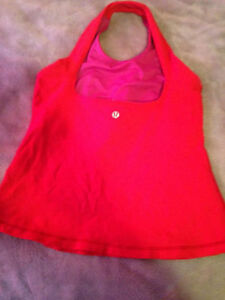 AUTHENTIC RED LULULEMON TANK SIZE 6