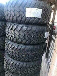 DEAL OF THE MONTH -- 33X12.50R18 DURATURN M/T TIRES -- CLEARANCE