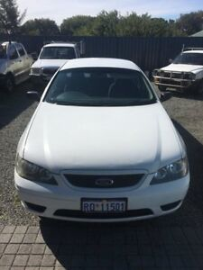 2006 Ford Falcon White 4 Speed Automatic Utility