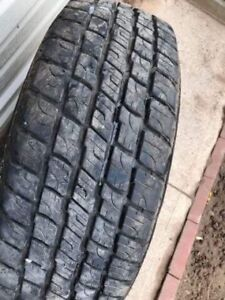 4 Summer Tires & rims for Ford Truck