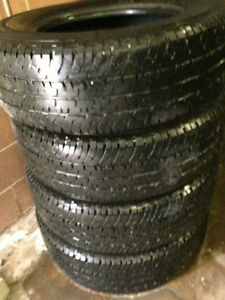 4 Truck Tires LT275/70/18 Michelin LTX load E