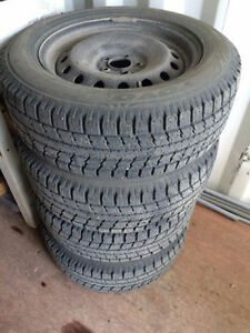 Ford Edge winter tires and steel rims 245/60R18 with TPMS
