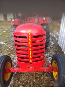 RECONDITIONED 30 MASSEY HARRIS TRACTOR