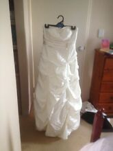 Wedding dress strapless Port Kennedy Rockingham Area Preview