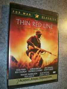 DVD   THE THIN RED LINE   VIEWED
