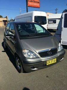 2004 Mercedes-Benz A160 Comet Grey HATCHBACK CLASSIC 16 F1 Unanderra Wollongong Area Preview