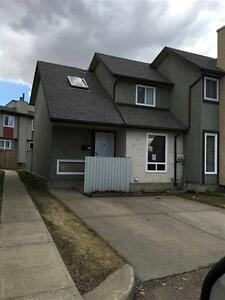 3 bedroom Millwoods (Crawford Plains) townhouse for rent