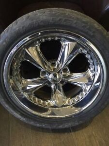 4 mags Foose 18 inch with tires for 1967-1969 Camaro $1400