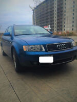2004 Audi A4 1.8T Quattro | 2nd Owner | SAFETIED & E-TESTED