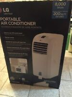 Air Conditioner portatif LG 8,000BTU Comme neuf