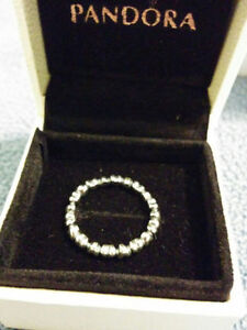 """Authentic Pandora """" Forever love"""" Sterling Silver Ring Windsor Region Ontario image 2"""