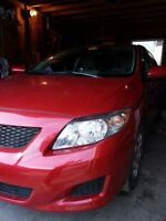 2009 Toyota Corolla ce +Michelin snow tires+ 2 way remote stater