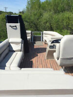 2015 Montego Bay Deluxe Charcoal 22' Tri Toon Pontoon Cruise
