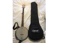 Ozark 5 String Banjo & Case