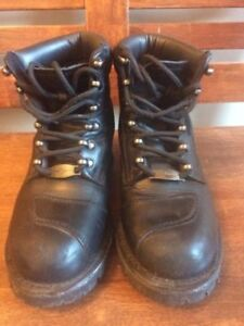 Women's Motorcycle Boots - Size 8