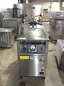 Commercial Heavy BKI Natural Gas Pressure Deep Fryer