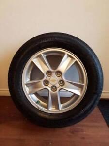 5 Bolt Alloy Rims & 215/60/R16 Tires
