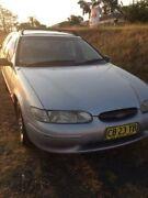 1996 Ford Falcon EL GLi Silver 4 Speed Automatic Wagon Wentworthville Parramatta Area Preview