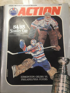 All 5 Edmonton Oiler Stanley Cup Winning Programs
