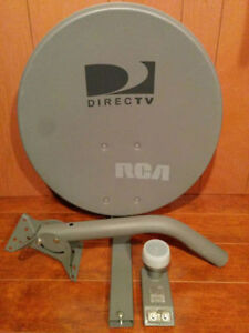 "Brand New RCA 18"" Satellite Dish With Dual LNB"