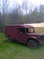 Reduced - 1955 Canadian Dodge Army Ambulance