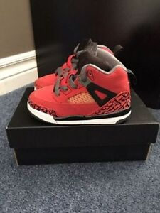 Jordan Spizike Gym Red/Black Dark Grey White Toddler Sz 6C Windsor Region Ontario image 1