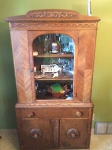 Antique Oak Hutch - Moving Sale